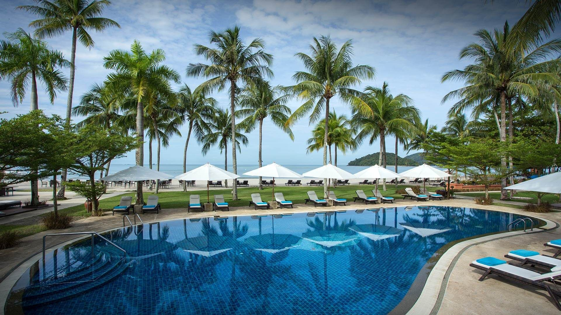 Mediterranean Style Resort Set On The Pristine Pantai Cenang Beach
